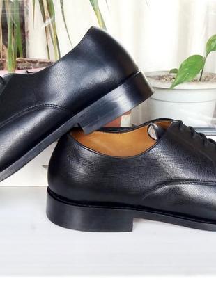 """Дорогие очень прочные классические кожаные туфли """"van lier 1815"""", голландия! 43 р."""