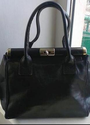 Кожаная сумка, англия
