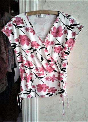 Топ на завязках майка блуза