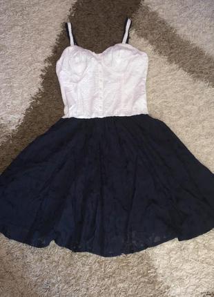 Шикарный сарафан платье, m-l
