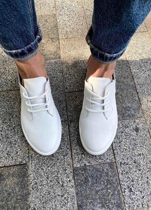 Кожаные туфли по супер цене
