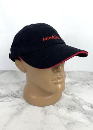 Бейсболка черная markilux, result headwear, хлопок