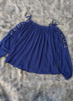 Блуза кофточка на плечи из натуральной вискозы select