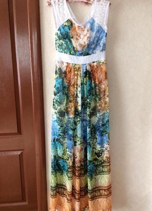 Красивое нарядное макси платье 🥻 сарафан