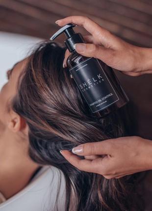 Шампунь себорегулирующий для жирной кожи головы
