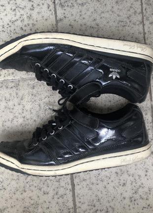Кеды кроссовки adidas оригинал 38 р чёрные сникерсы puma