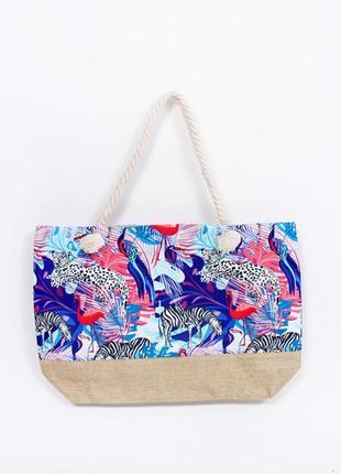 Яркая пляжная сумка герта