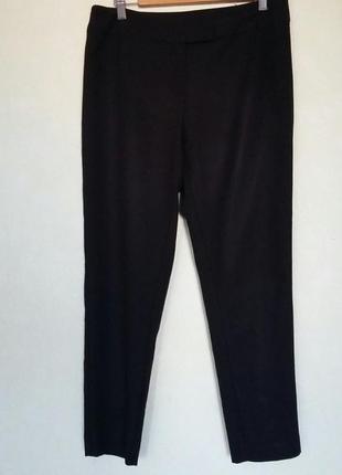 Черные укороченные штаны брюки р. м