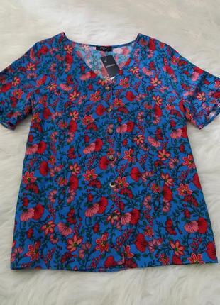 Шикарная блуза большого размера батал блузка, рубашка, футболка