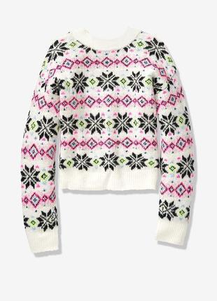 Двусторонний мягкий свитер victoria's secret