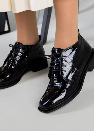 Стильные качественные ботинки лоферы туфли натуральная кожа в наличии