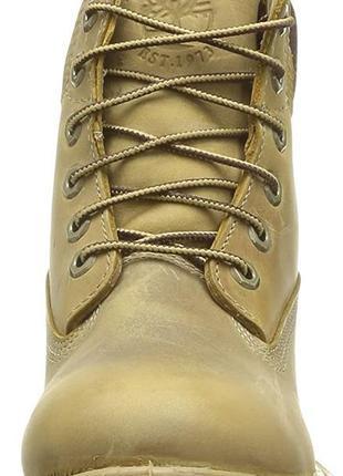 Timberland женские полированные кожаные ботинки на шнуровке 38-39 р. стелька 25