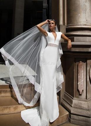 Свадебное платье ida torez, pollardi 38 размер