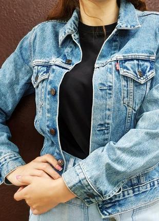 Джинсовка levis , джинсовая куртка levi's