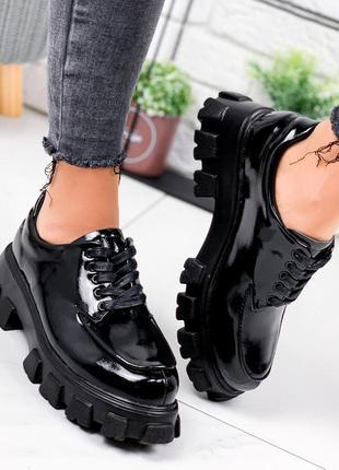 Туфли женские adalena черные