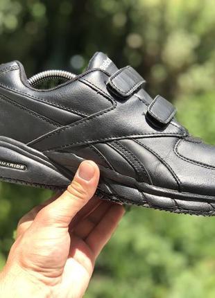 Reebok dmx ride oil resistant спортивні кросівки на ліпучках оригінал