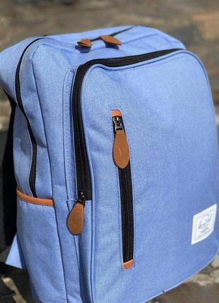 Рюкзак herschel синий сумка унисекс