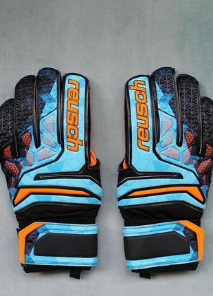 Reusch prisma® мужские вратарские перчатки голкипера