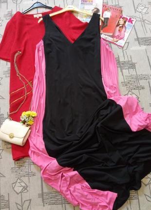 Скидка!!!шикарное платье в пол на высокий рост ! definitions, размер 14-16