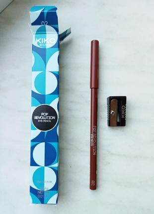 Kiko milano карандаш. pop revolution eye pencil