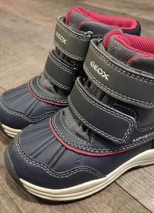 Зимние ботинки сапожки geox amphibiox