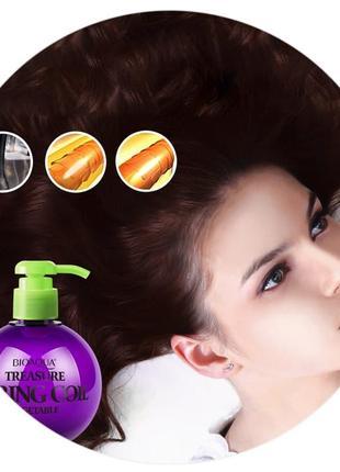 Эластин для укладки волос с эффектом лечения bioaqua 250гр