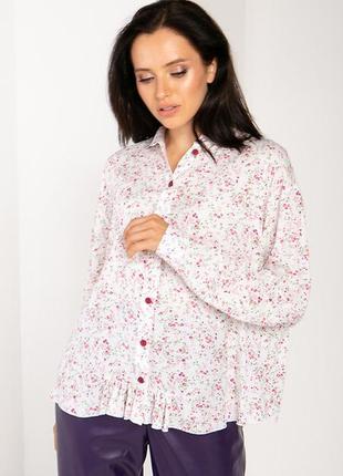 Блуза в каітковий принт