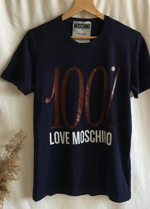 Футболка moschino (оригинал, м)