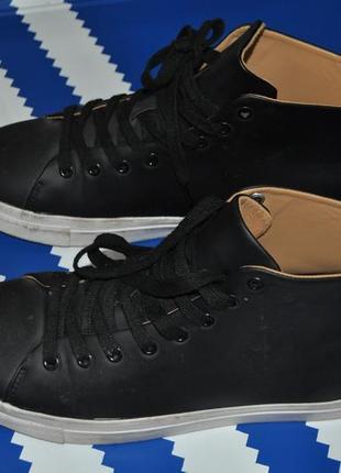 Zara man крутые высокие кроссовки зара 40 размер мужские