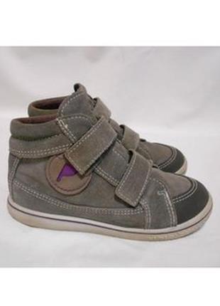 Кожаные ботинки ricosta sympatex р.27. германия.