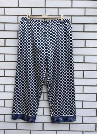 Атласные пижамные брюки  большого размера marks&spenser