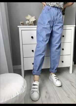Скидка! актуальние банани джинси мом штани джогери спортивние штпни