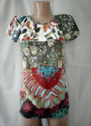 Легкая х/б-шная кофточка, блуза, футболка