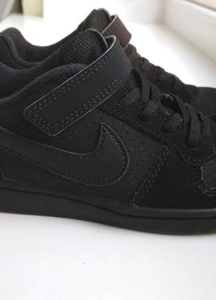 Кожаные кроссовки nike оригинал р.32