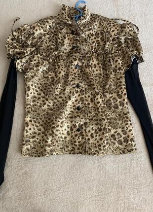 Блуза жіноча тигрова