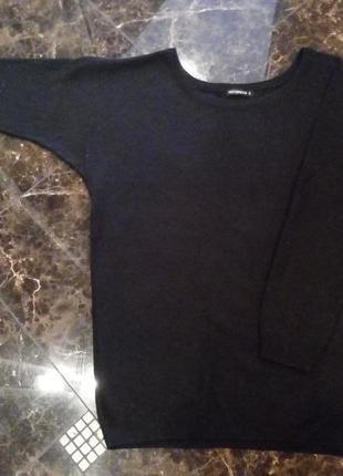 Удлиненный свитер-оверсайз, р. s/l