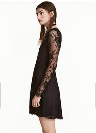 Кружевное платье.h&m