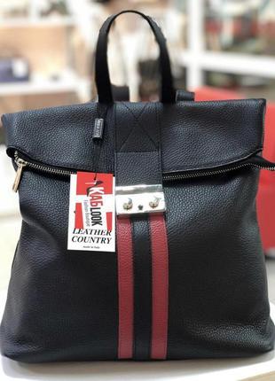 Рюкзак кожа италия