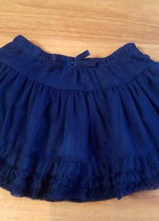 Воздушная юбка для принцессы на 12-18 месяцев