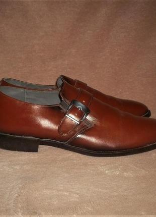 Кожаные туфли с эффектом градиент стелька=29 см.