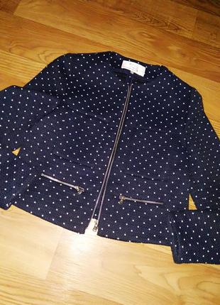 Стильный фактурный пиджак жакет.
