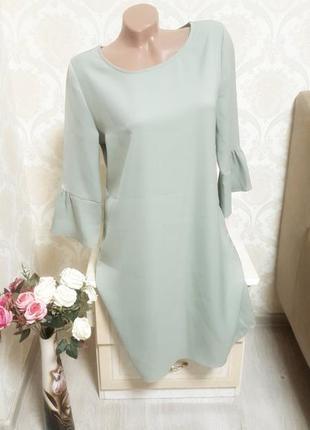 Стильное шикарное платье свободного кроя