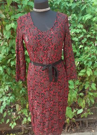 Платье кружевное кружево облегающее вечернее нарядное шикарное ажурное
