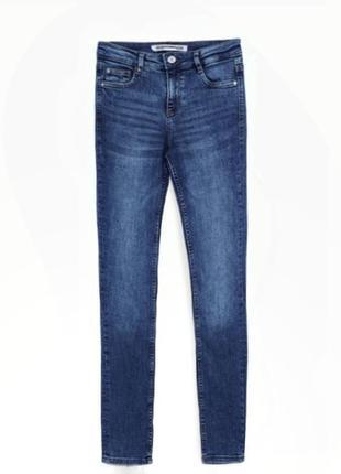 Sale🔥 синие джинсы zara trafalac, 27