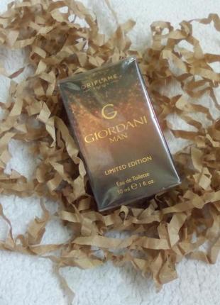 Мужская парфюмерная вода giordani man limited edition (джордани мен) 30 мл #24575 .