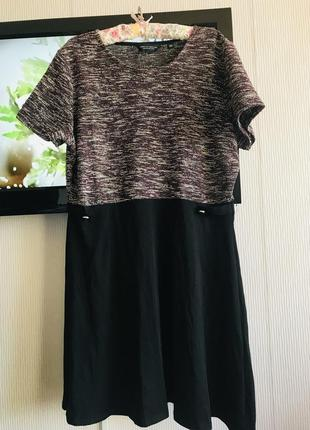 Красивое платье большой размер 22