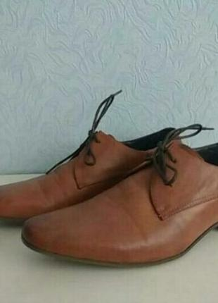 Стильные туфли дерби