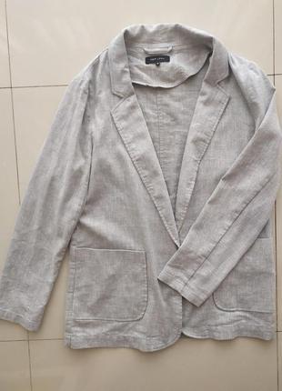 Льняной пиджак new look