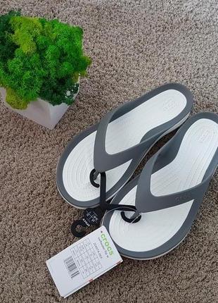 Жіночі шльопанці crocs swiftwater flip-flops