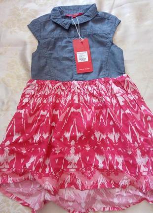 Легкое платье на девочку, 2-3 года